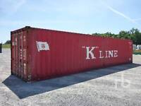 40 FT  STORAGE SEA CONTAINERS 9FT HIGH