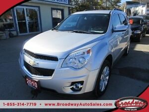 2010 Chevrolet Equinox 'GREAT VALUE' FUEL EFFICIENT LT MODEL 5 P