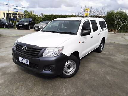 2011 Toyota Hilux Ute DUEL CAB 2.7 Ravenhall Melton Area Preview