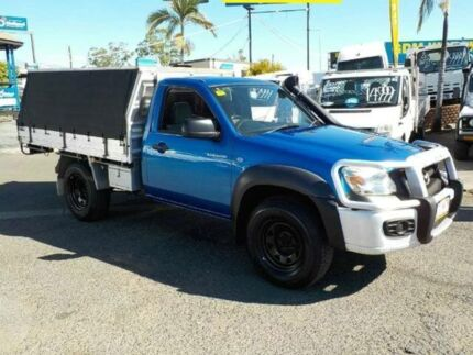 2010 Mazda BT-50 UNY0E4 SDX Blue 5 Speed Manual Cab Chassis
