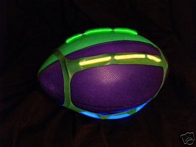 Glow Football (Glow-in-the-Dark Lighted Football Harness w/ Free)