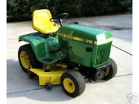 Looking for old John Deere lawn tractor