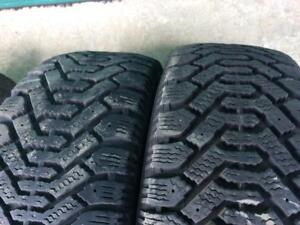 4X 195 60 14 Nordic Winter tires Pneus D`hiver