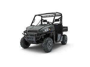 2018 Polaris Ranger XP 900 EPS Matte Titanium Metallic