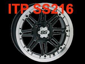 "ITP SS216 Canada ATV WHEEL RIM 12"" ATV TIRE RACK Kingston Kingston Area image 2"