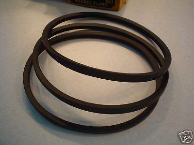 Delta Unisaw drive belts, set of 3, 3450 rpm motor (2-13)