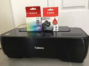 Canon iP1800 Printer, NEW Black & Colour inks, Epson V37 Scanner Miami Gold Coast South Preview