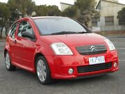 2005 Citroen C2 VTR Red 5 Speed Sequential Manual Hatchback Maidstone Maribyrnong Area Preview