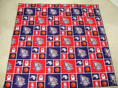 New Jersey Nets Basketball NBA Fabric Bandana Dog/Pet or YOU! NEW