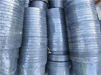 1000 X 2 litre black plastic garden plant planter flower pot growing pots COLLECTION - TO CLEAR!