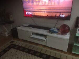 White tv unit Sans Souci Rockdale Area Preview