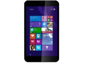 "LINX 8 TABLET / PC, 8"" SCREEN, WINDOWS 8, ORIGINAL BOX CHARGER"