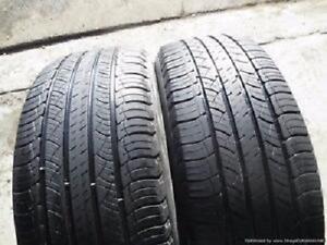 205/65/16 Michelin Energy Saver A/S All season 2 used tires 75%Tread left