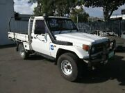 1999 Toyota Landcruiser HZJ75RP White 5 Speed Manual Cab Chassis Coopers Plains Brisbane South West Preview