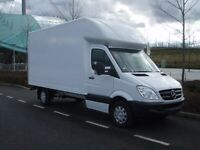 Fast movers .cheap man and van services,, big Luton van with tail lift
