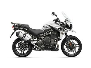 2018 Triumph Tiger 1200 XR Crystal White