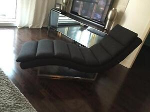 Chaise longue Charcoal