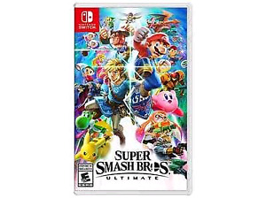 BUYING: Super Smash Bros Ultimate for Nintendo Switch