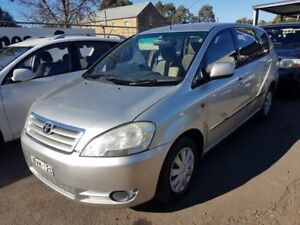2003 Toyota Avensis ACM20R Verso GLX Silver 4 Speed Automatic Wagon Campbelltown Campbelltown Area Preview