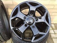 Transit st 18 inch alloys ford tourneo limited sport van black