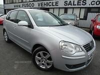 2009 Volkswagen Polo 1.4 Match - Silver - 12 months MOT + Platinum Warranty!
