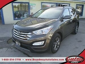 2013 Hyundai Santa Fe LOADED 'SPORT - EDITION' 5 PASSENGER 2.4L