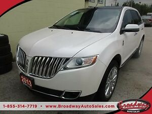 2013 Lincoln MKX LOADED AWD 5 PASSENGER 3.7L - V6.. LEATHER.. HE