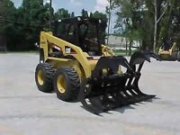 CAT 246 C for rent , comes with FREE DUMP TRAILER