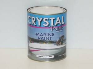 MARINE PAINT WHITE 1 LITRE STEEL , FIBERGLASS, TIMBER South Kempsey Kempsey Area Preview