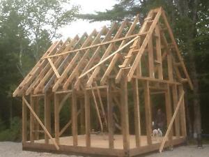 Tiny house timber frame
