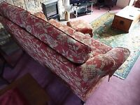 Barker&stonehouse sofa wing chair stool
