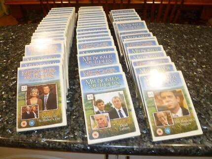 MIDSOMER MURDERS Official Collection Complete