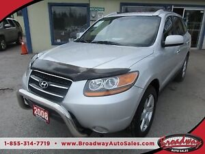 2008 Hyundai Santa Fe LOADED LIMITED EDITION 5 PASSENGER 3.3L -
