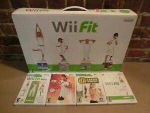 Wii fit avec 4 jeux (i011205)
