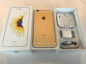 Rogers or Chatr iPhone 6S 128GB Gold - 10/10 - Guaranteed Activation + No Blacklist