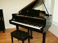 YAMAHA C3 GRAND PIANO 1980 BLACK PRICED TO SELL 12K