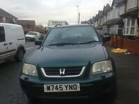HONDA CR-V 2.0 PETROL, AUTOMATIC, LONG MOT, TAX, GOOD ENGINE AND GEAR BOX