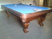 The Billiard Studio Presents: NEW -  Pinnacle Walnut Pool Table