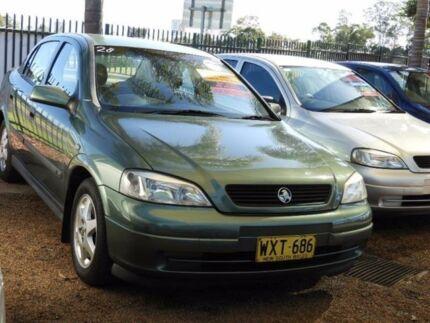 2000 Holden Astra TS CD Green 4 Speed Automatic Sedan