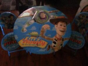 Toy Story table & chairs