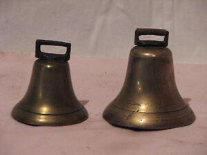 Antique Brass Cow Bells