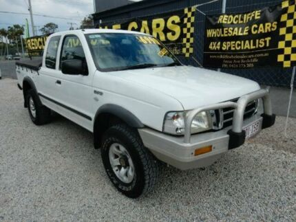 2005 Ford Courier PH XL Super Cab White 5 Speed Manual Utility Kippa-ring Redcliffe Area Preview