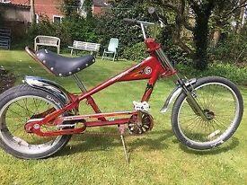 Schwinn Stingray Chopper Lowrider Bike