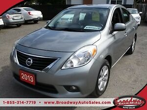 2013 Nissan Versa POWER EQUIPPED SL MODEL 1.6L - 4 CYL.. CLOTH I