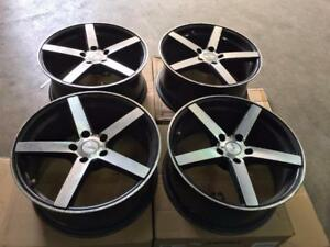 Ikon IK54 CV3 Style Wheel 18 inch Used $350 Cash 4 Wheels @905 673 2828 Zracing Rims Honda Mazda Hyundai Lancer Kia Niss