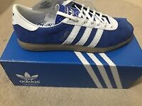 Men's Adidas Athen Suede Blue Trainers