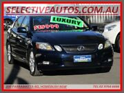2005 Lexus GS300 GRS190R Sport Luxury Blue 6 Speed Auto Sequential Sedan Homebush Strathfield Area Preview