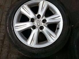 sparkling fresh Alloy wheel set - LEXUS IS MK11