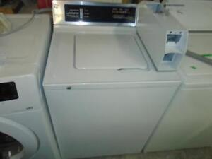 GE COMMERCIAL WASHER / LAVEUSE COMMERCIALE GE