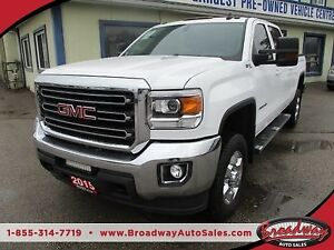 2015 GMC Sierra 2500 HD LOADED SLE MODEL 6 PASSENGER 6.6L - DURA